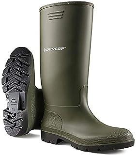 Dunlop Womens Green Wellies Wellington Boots