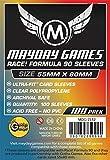 "100 Mayday 55 x 80 ""Race! Formula 90"" Board Card Game Sleeves"