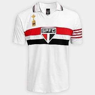 Camisa Polo São Paulo Capitães Libertadores 1992 Masculina - Branco - G