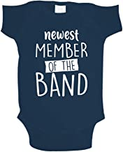 Newest Member Of The Band Baby One Piece or Toddler T-Shirt for Musicians