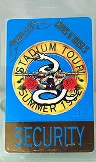 Guns n' Roses Metallica 1992 Laminated Backstage Pass