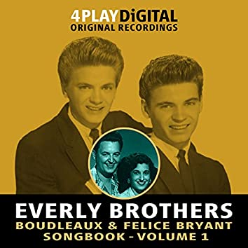 Boudleaux & Felice Bryant Songbook - Vol' 1 - 4 Track EP