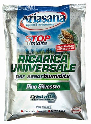 Ariasana 673942 Ricarica Sali assorbiumidità, profumazione Pino, 1 Busta, 450 g