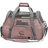 DW Haustier-Transporttasche, Haustier-Tasche, Reisehundetasche mit Weichem Gesicht,...
