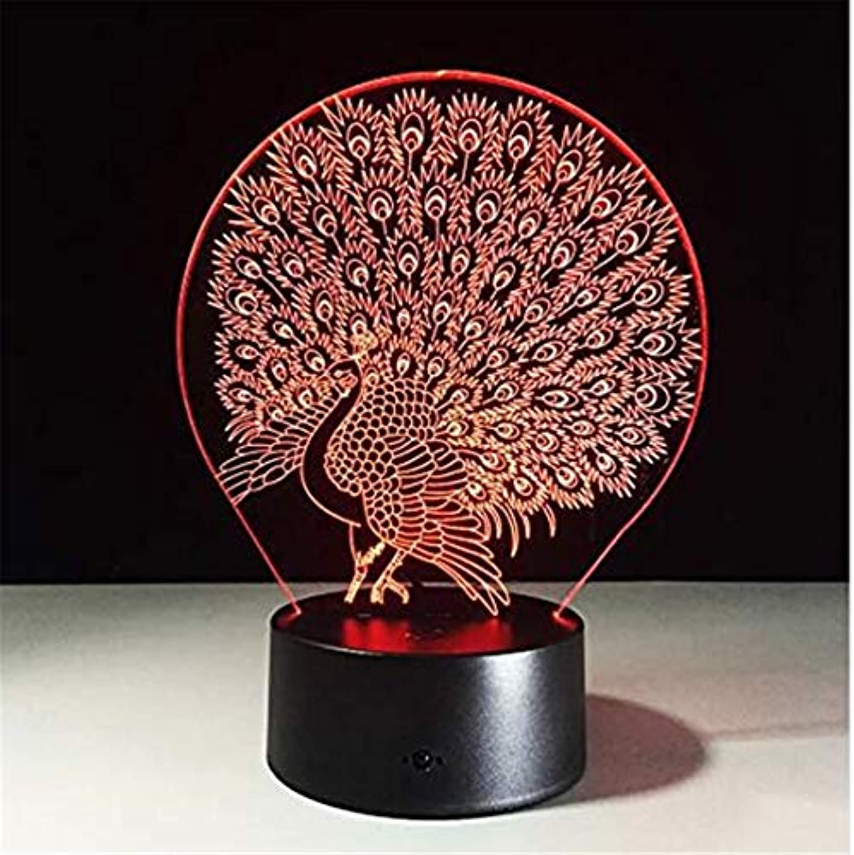 Helles Villenlicht 3D Lamp Home Decoration Atmosphre Lava Lampe