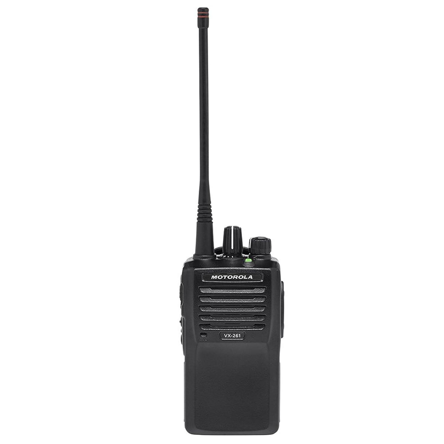 Motorola Original VX-261-G7-5 UHF 450-512 MHz Handheld Two-way Transceiver with High Capacity Battery