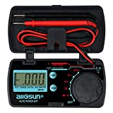 ALLOSUN Pocket Size Digital Multimeter Auto Range Multi Tester (EM3082 (Auto Range))