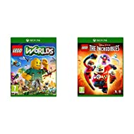LEGO Worlds (Xbox One) & The Incredibles (Xbox One)