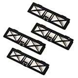 Neato Robotics Neato Performance (4-Pack) Ultra Filter, Normal, Black, 4 Count