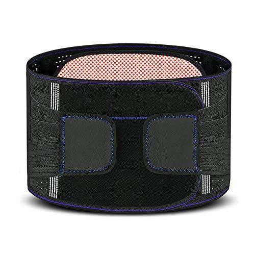 H-Protection belt Rückenstützgürtel, Turmalin-Selbsterhitzungsgürtel - Gegen Schmerzen In Der Lendenwirbelsäule, Bandscheibenvorfall,Rückenstabilisator,S
