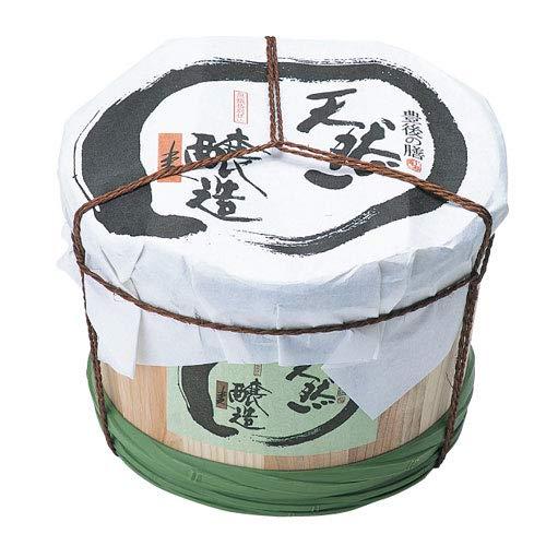 富士甚醤油 フジジン 豊後の膳 麦みそ 4Kg木樽