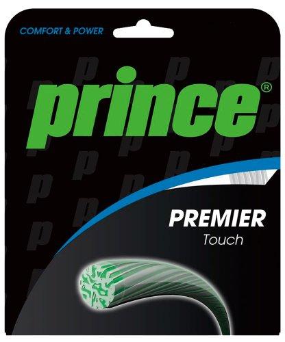 Prince Premier Touch Tennis String Set-15L Gauge-Transparent