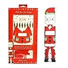 Make Your Own Christmas Crackers 6pcs DIY Kit Children Kids Xmas Santa Empty Party Games