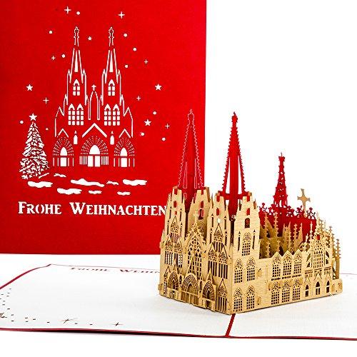 Pop-Up Karte Kölner Dom