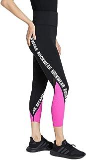 Rockwear Activewear Women's Waikiki Ag Logo Tight Black 6 from Size 4-18 for Bottoms Leggings + Yoga Pants+ Yoga Tights