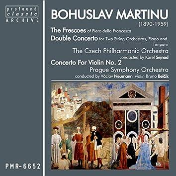 Bohuslav Martinů; Frescoes of Piero Della Francesca & Double Concerto for Two String Orchestras