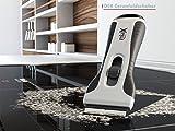 miaX Grattoir Plaque Vitrocéramique professionnel – Votre Grattoir fiable en cuisine et maison – Grattoir plaque à induction avec poignée soft-touch – Lames de rechange inclus avec le Grattoir à verre