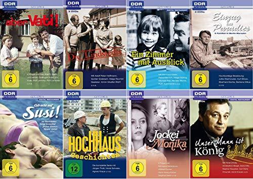 Die schönsten DDR TV-Archiv Familienfilme (u.a. Aber Vati!, Die Lindstedts, Ein Zimmer mit Ausblick, Hochhausgeschichten)
