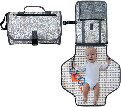 Zusammenklappbar Infant Urinal Pad Baby Wickelunterlage Kit Taschen chenyu Tragbar Wickelunterlage Wickelunterlage Kopfpolster Wasserdicht