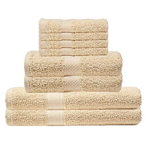 Comfort Linen 300 Thread Count Cotton Dobby Stripe Sheet Set- Assorted Colors/sizes, Queen - Beige