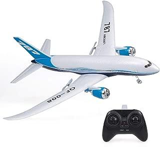 Fernbedienung Flugzeug 2,4 GHz Simulation EPP-Schaum RC Segelflugzeug Modell RC Flugzeug Radio Control Flugzeug Flugzeugmodell Modellflugzeug Ferngesteuert Flugzeugspielzeug F/ür Erwachsene Kinder