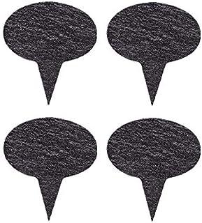 لافتات VersaChalk Slate سبورة جبن علامة، مجموعة دائرية من 4 قطع
