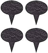 VersaChalk Black Slate Cheese Markers, Set of 4, Round – Small Rustic Farmhouse..