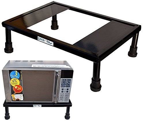Plantex Heavy Gi Metal Universal Microwave Oven Fix Stand for Kitchen Platform...
