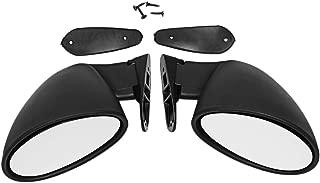 WOVELOT Cover Specchietto Retrovisore Auto Durevole Cromo Durevole Caso Specchio Retrovisore per Modello Tesla 3