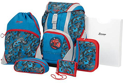 Sammies by Samsonite Ergofit Disney Schulranzen-Set 7-tlg Marvel Spiderman 01 marvel spiderman