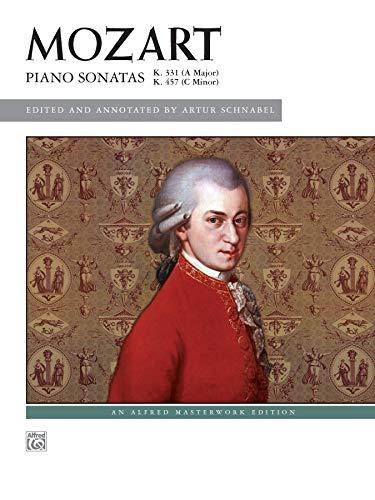 Piano Sonatas, K. 331 & K. 457 (Alfred Masterwork Edition)