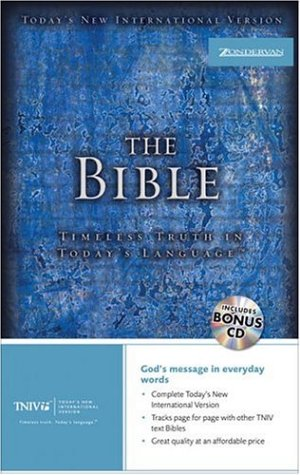 Compare Textbook Prices for The TNIV Bible: Timeless Truth in Today's Language Today's New International Version  ISBN 9780310921813 by Zondervan