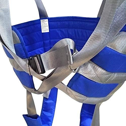 515CTXGk1SL - Manejar Médico Cuerpo Completo Paciente Eslingas De Elevación Muslo Cadera Cintura Lumbar Atrás Apoya En Pie SIDA Entrenadores Pierna Ejercicio Con Acolchado Cofre Buffer Gran Capacidad De Carga