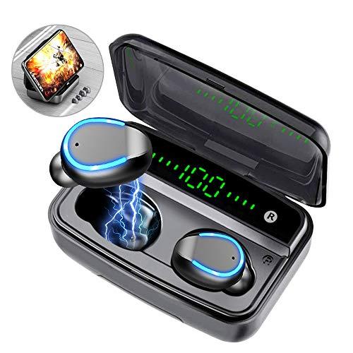 Auriculares inalámbricos, Auriculares inalámbricos Bluetooth 5.0 inalámbrico Auriculares Bluetooth estéreo TWS Impermeables Auriculares internos incorporados Micrófono For Apple/Android/Samsung