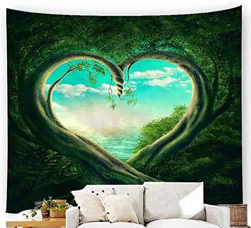 giyiohok Tapiz para colgar en la pared, diseño de árbol hippie de la vida, 150 x 100 cm, estilo 1_230 x 150 cm