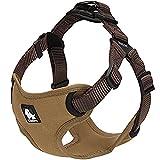 Da Jia Inc 3M Harnais réfléchissant pour chien avec poignée en nylon durable, réglable et respirante en maille filet pour animal domestique pour chiens de petite et grande taille