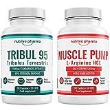 nutrive pharma Vitamine & Mineralien (Tribulus + L-Arginin Sparpaket)