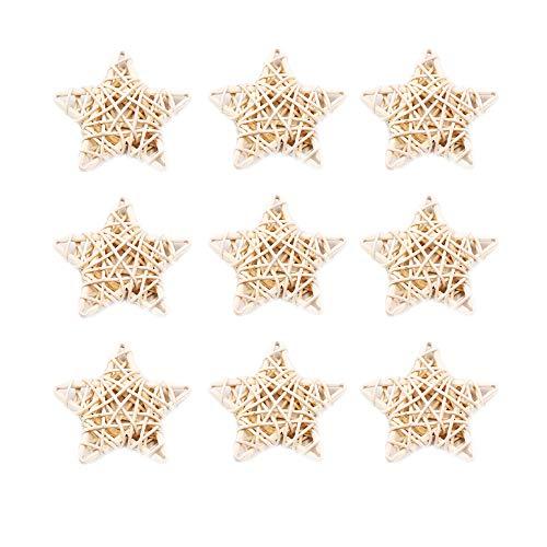 Airssory - 10 varillas de repuesto para difusor de fragancia de ratán con forma de estrella, para decoración del hogar