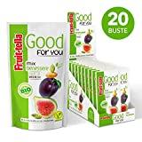 Fruittella Good For You Mix Benessere Bio, Snack di Semi, Frutta Secca e Disidratata biolo...