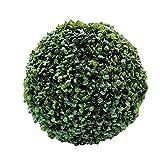 Simulation Garden El boj Artificial Bola - Planta Artificial Topiary Verde - Proteccin UV - Boda del jardn de decoracin,40cm