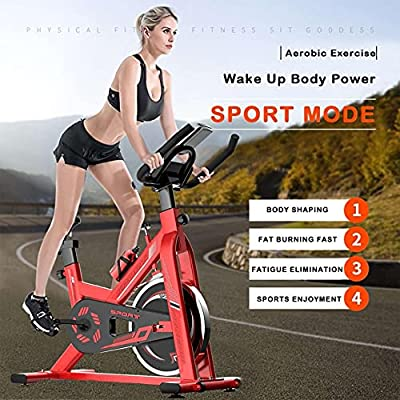 Amazon - Save 80%: Indoor Cycling Bike Stationary, Belt Drive Indoor Exercise Bikes, Sta…