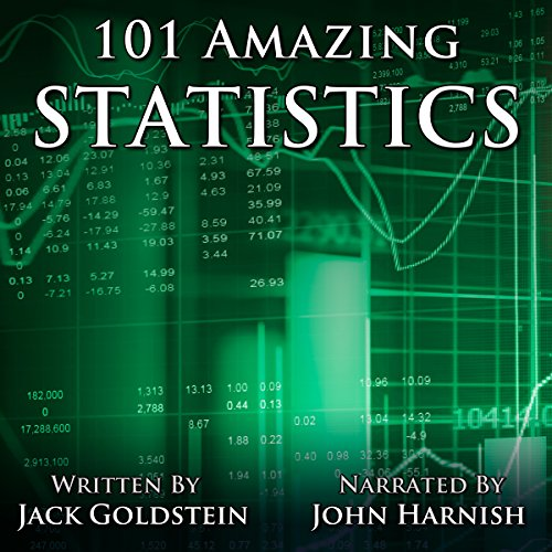 101 Amazing Statistics audiobook cover art