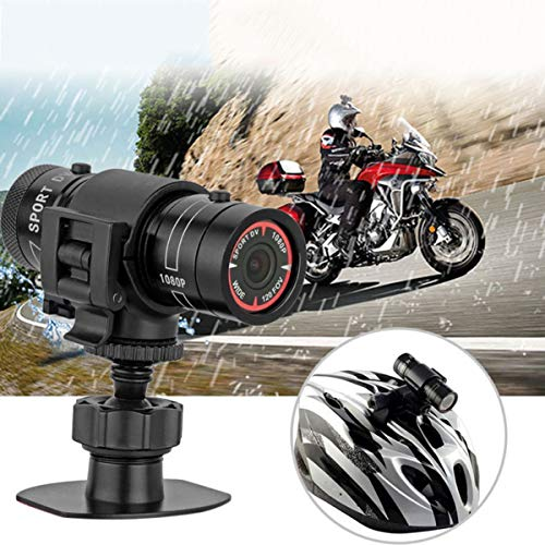 Elikliv HD 1080P Video Action Camera, Mini Sports DV Camera Full HD Video DV Camcorder 120-Degree Wide-Angle Outdoor Motion Video Recorder For Mountain Bike