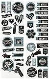 & Me My Big Ideas-Set di Fogli, Gesso, Look At Me