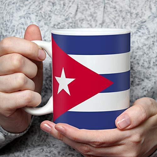 Geschenk Tasse mit Flagge Kuba Länder Flaggen Geburtstagsgeschenk Souvenir Cuba für Reiseliebhaber Frauen Männer