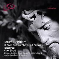 Faur茅: Requiem; Bach: Partitas, Chorales & Ciaconna by Gordan Nikolitch (2012-11-13)