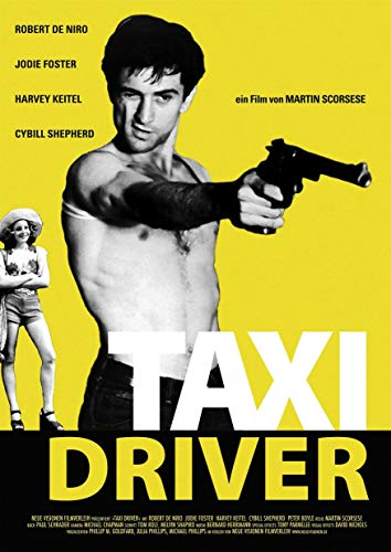 Poster Affiche Taxi Driver Vintage Movie Cult