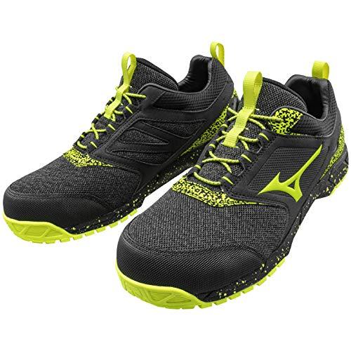 [ミズノ] 安全靴 F1GA1903 オールマイティ ES31L 60:ブラック×ピンク 26.0cm