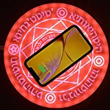 XYEJL Round Wireless Charger Stand Pad,10w Ultra Slim Fast Charging Pad Creative Magic Circle Array...