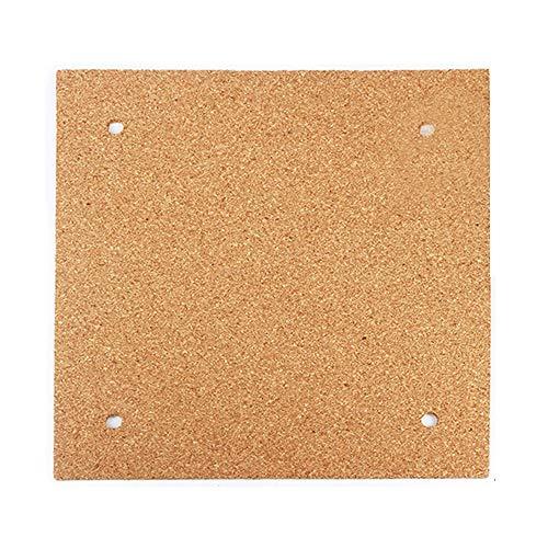 Beheiztes Bett Kork Thermo-Isolator Hot Bed Bottom Isolierplatte 3M Klebeband vorangebracht für 3D-Drucker 235 x 235 x 3 mm Eewolf